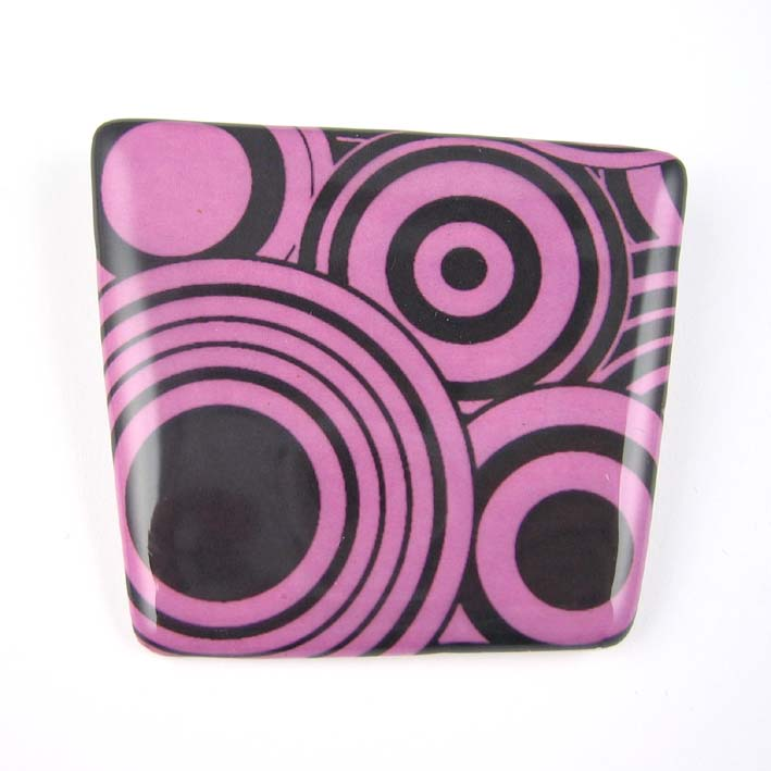View Retro Pattern brooch