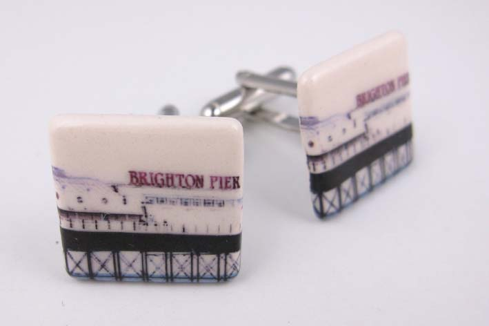 View Brighton Pier cufflinks
