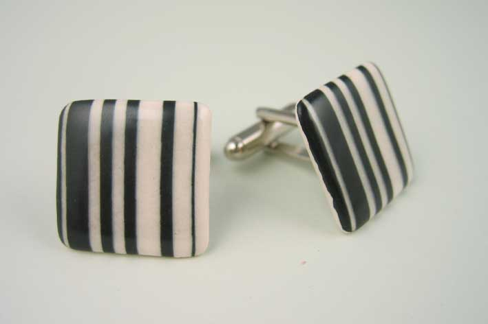View Barcode cufflinks