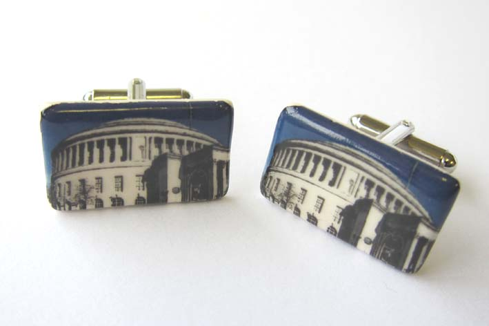 View Manchester Central Library cufflinks