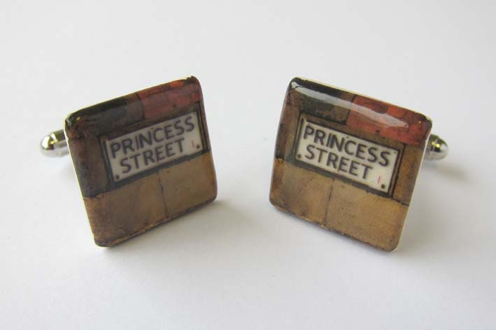 View Manchester Princess street cufflinks