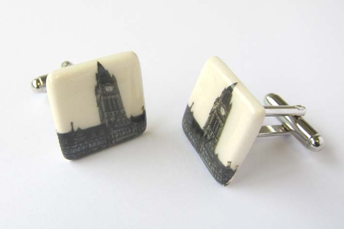 View Manchester Town Hall cufflinks