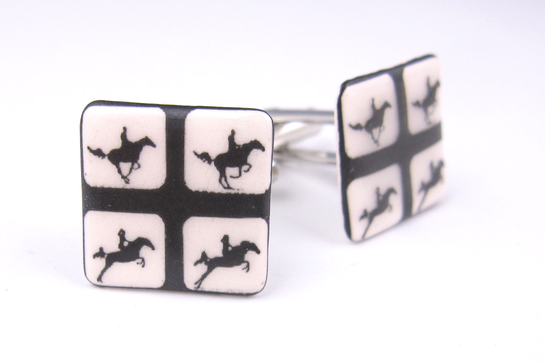 Muybridge cufflinks