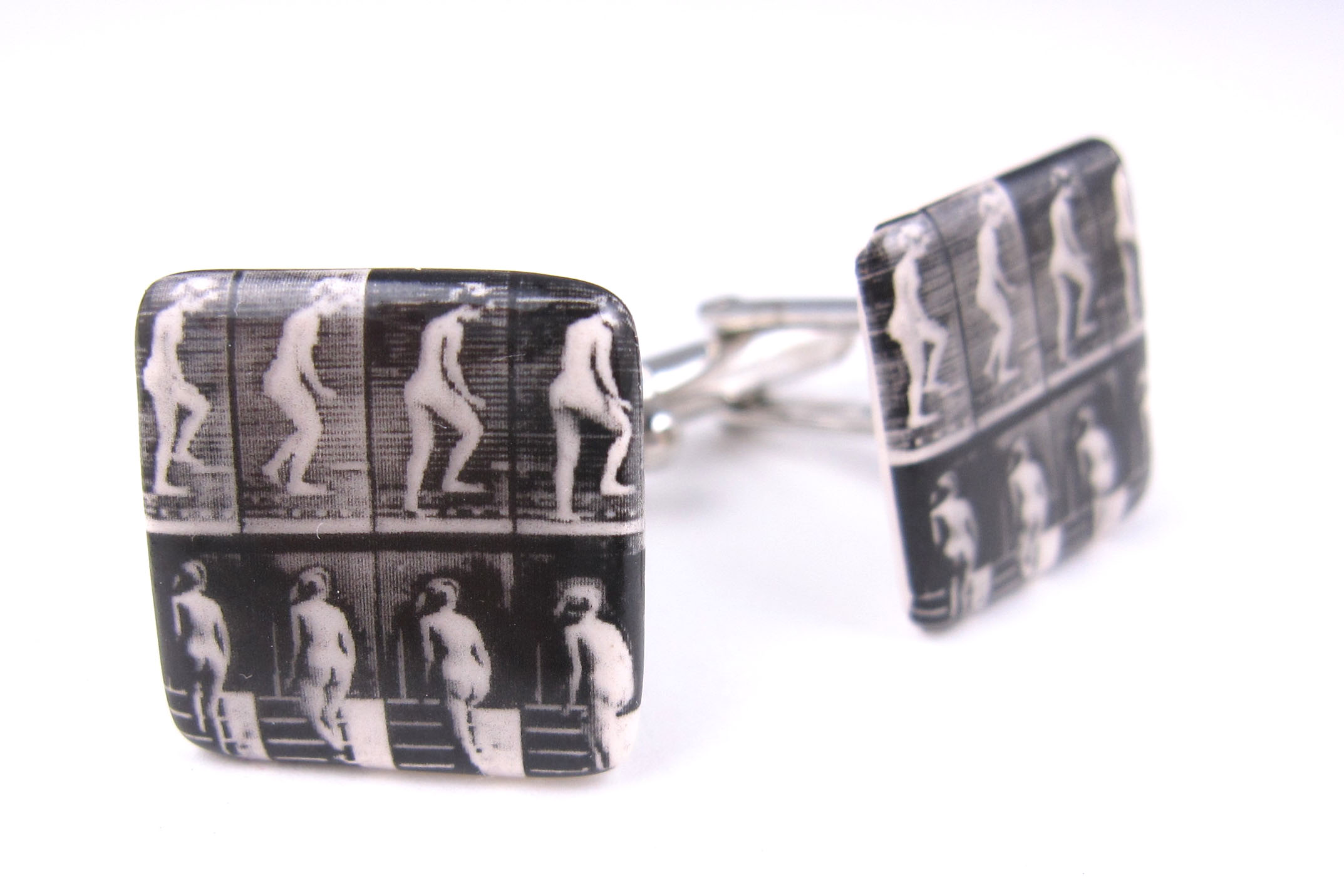 Muybridge Ladies cufflinks