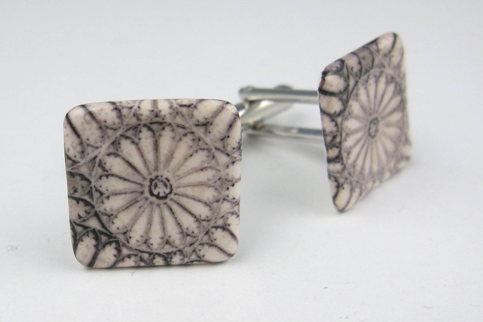 Oxford Christchurch vaulted roof cufflinks