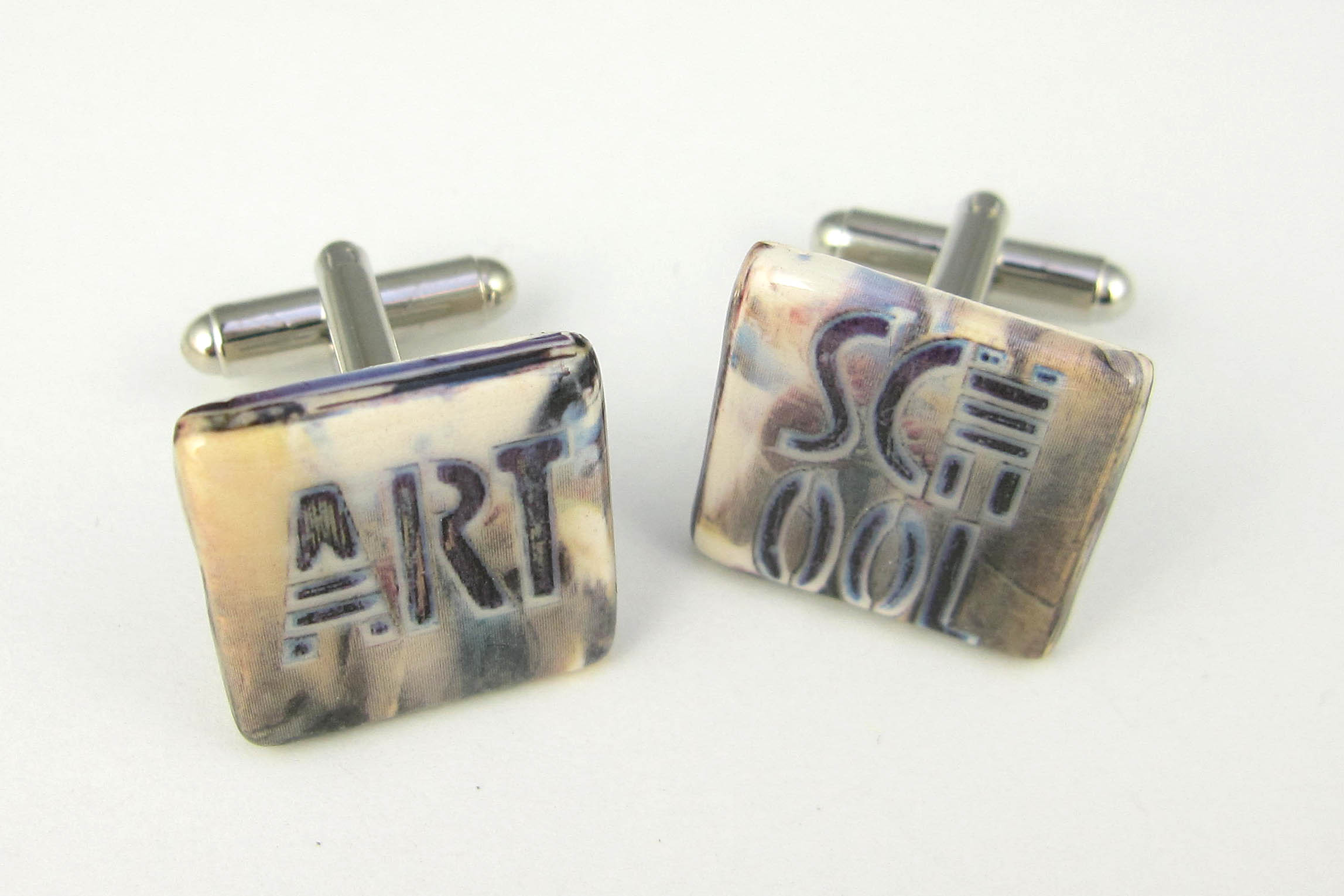 Glasgow School of Art door pushes cufflinks