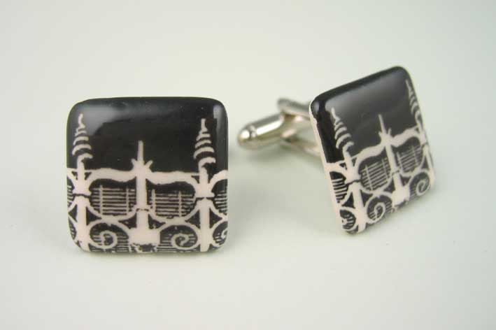 View Spiral Railing cufflinks