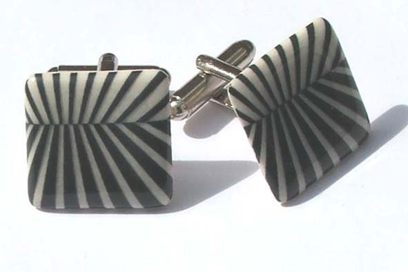 View Sunburst cufflinks