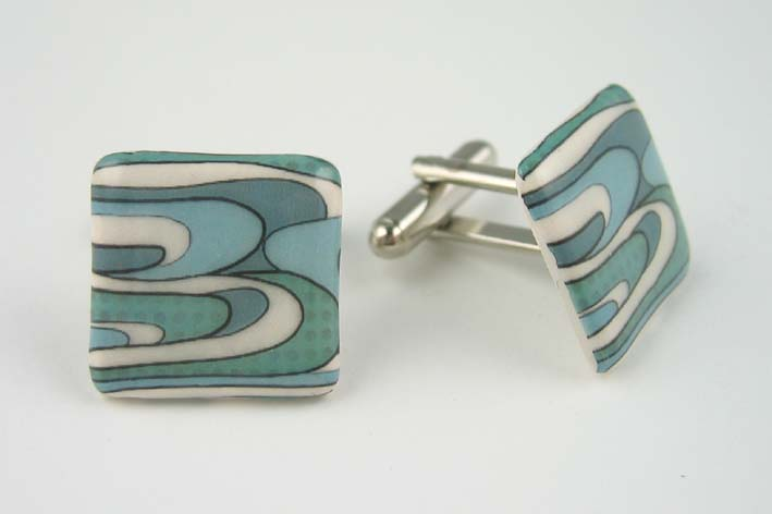 View Turquoise Sea cufflinks