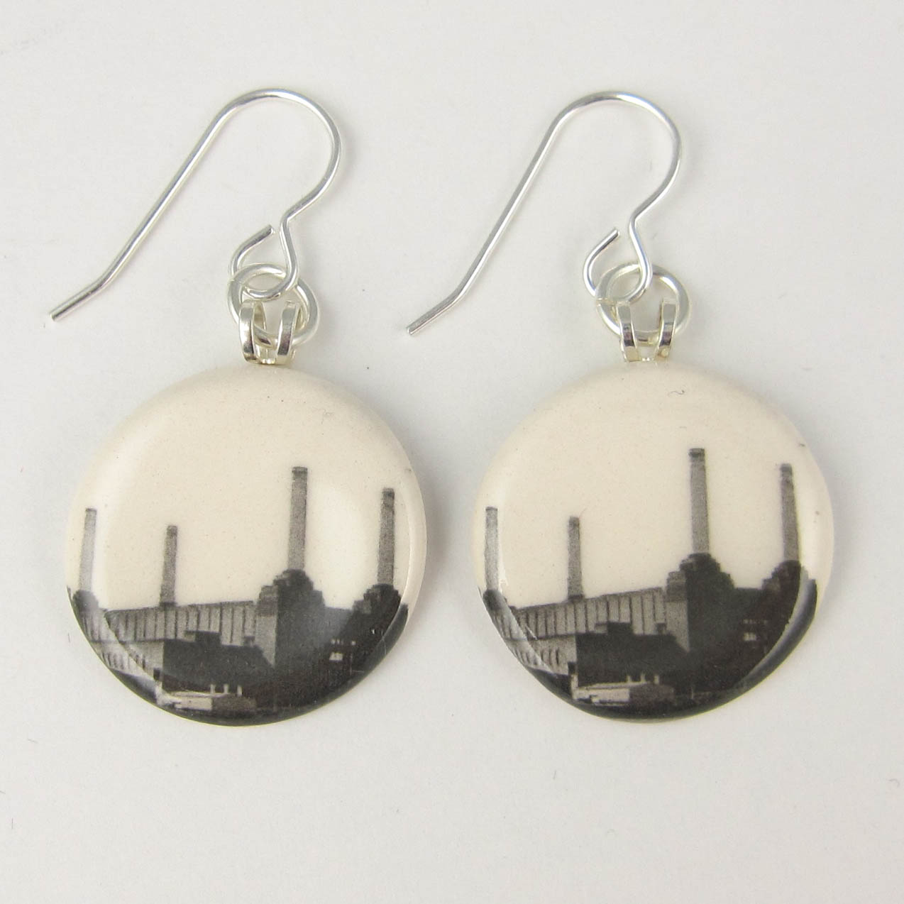 View London Battersea Power Station earrings