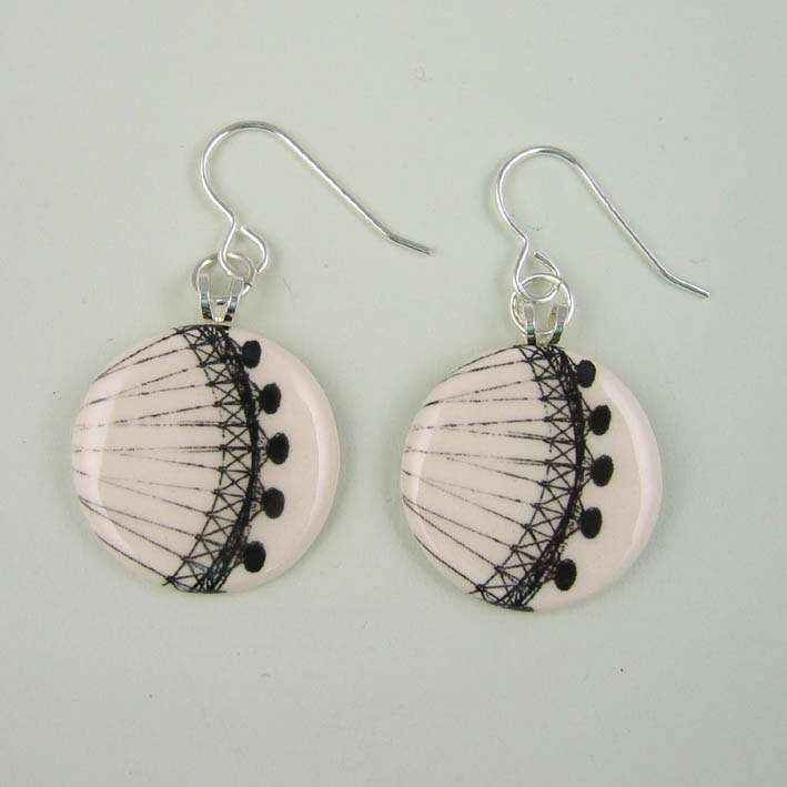 View London Eye earrings